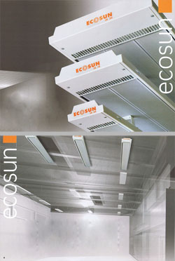 EcoSun SB Panels: High-Output Radiant Ceiling Heating
