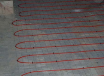 Inscreed Heating: Safe-t-SCREED Installation #2